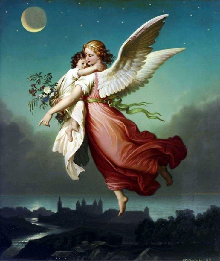 Православные картинки с ангелами спрокойной ночи