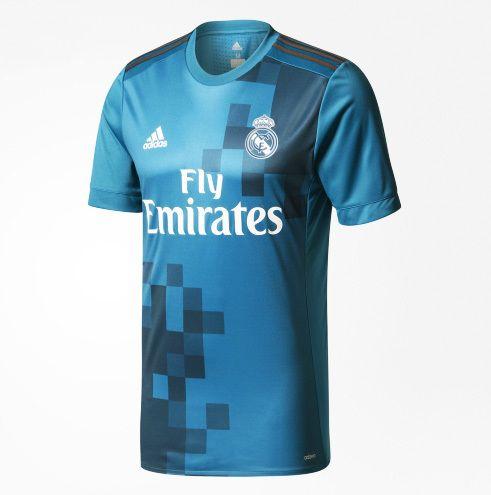 Real Madrid apresentou nesta sexta-feira sua nova camisa 3 para 2017/18
