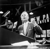 Tommy Douglas - During his 42 years in politics, Tommy Douglas proved himself as an outstanding Canadian leader. He is largely responsible for our central banking, old age pensions, unemployment insurance, and our universal Medicare.