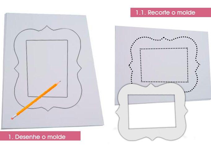 DIY: Moldura de Porta Retrato | DICAS DA CASA | SUA CASA AINDA MAIS LINDA | RECEITAS, DIY, DECORAÇÃO CRIATIVA E ENXOVAL
