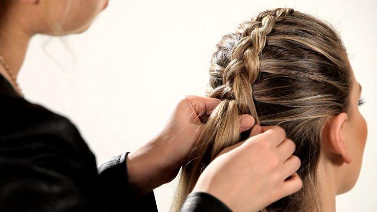 How to Do a Reverse French Braid | Braid Tutorials