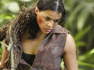 #Women of Color in #Film and #TV Week: The Conundrum of Butch-Hottie Michelle Rodriguez | #woc