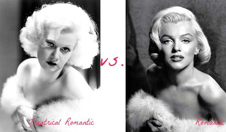 Theatrical Romantic vs. Romantic.