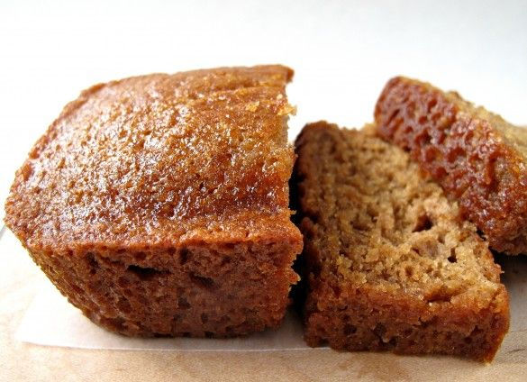 Honey Applesauce Cake- Made in a loaf pan, this moist cake is great for enjoying now or freezing for later. A perfect gift loaf, this cake stays fresh for at least a week with the flavor improving each day!   The Monday Box