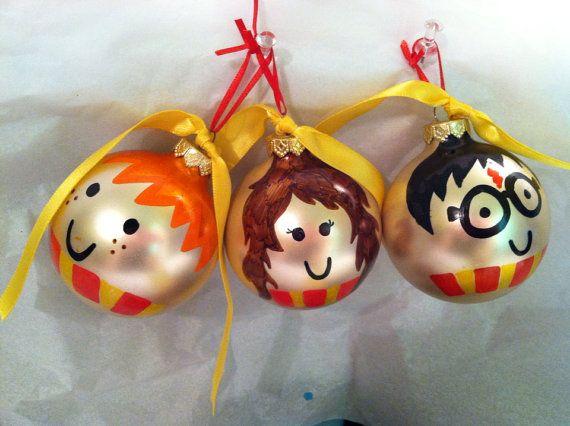 Accio Ornament Harry Potter-inspired ornaments by SeasonoftheGeek