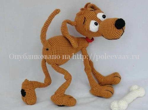 Собака своими руками схема