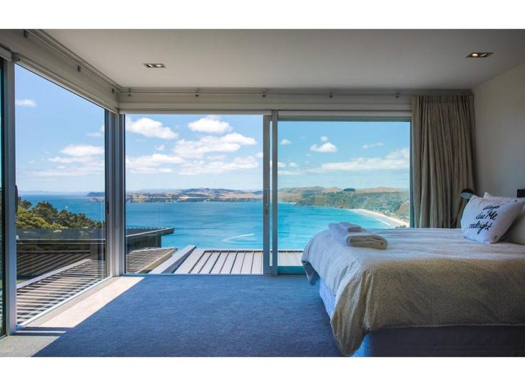 A bedroom with a view!  Onetangi Luxury | Be My Guest Waiheke