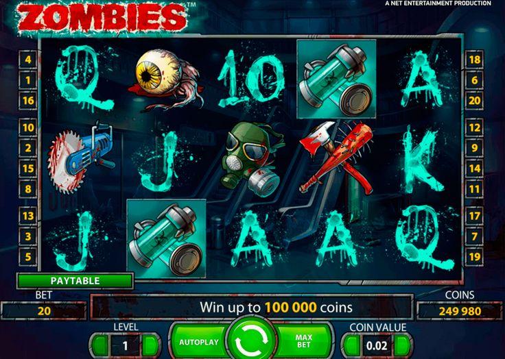 Yyyyyyyyh! Zombit nyt kolikkopelissäkiin! #NetEnt kolikkopeli Zombies oikein hyvä esimerkki sitä! Puoli kuoleviä ihmisiä, aivot ja silmät, täällä on kaikki zombi apokalipsis tykkäville!