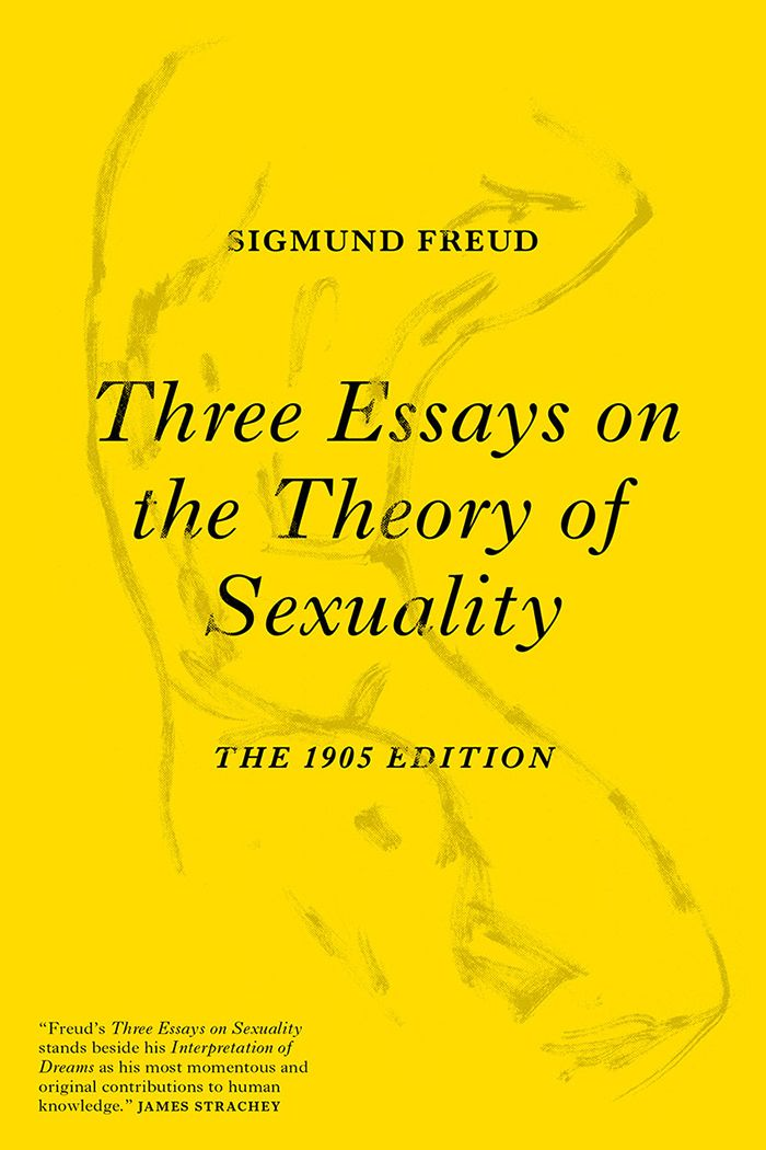 Three Essay On The Theory Of Sexuality Front 1050 Sigmund Freud Books