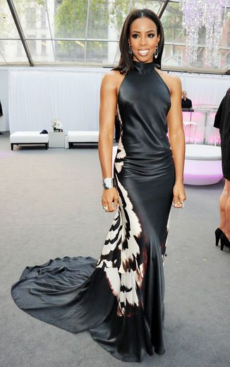 Best Dressed, June 1, 2012: Kelly Rowland really found her beat and she showed it at the Glamour Women of the Year Awards in London. This flowy silk floor-length halter gown by Maria Grachvogel was made for her; and the simple hair and minimal jewelry pulls the look together.