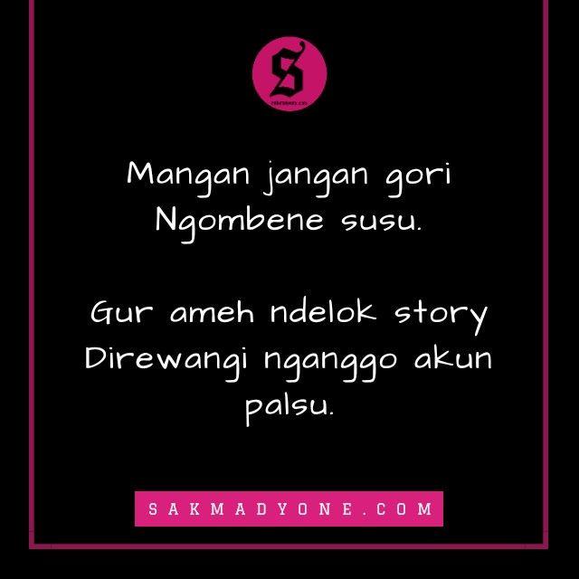 Kata Kata Sindiran Mantan Bahasa Jawa Quotes Incoming Call Screenshot Incoming Call