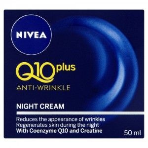 Nivea Visage Q10 Plus Creatine Anti Wrinkle Night Cream 1.7oz. / 50ml