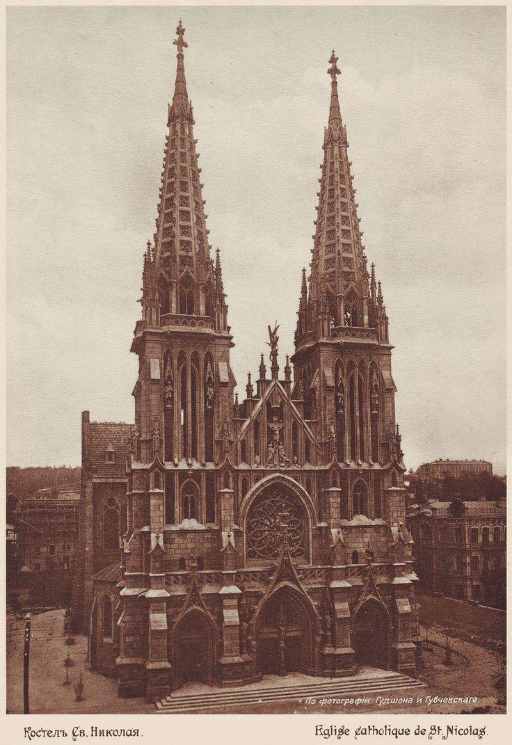 Catholic church of St Nicholas, 1888