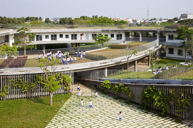 Gallery of Farming Kindergarten / Vo Trong Nghia Architects - 11