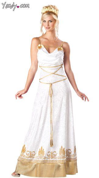 Greecian Goddess costume dress