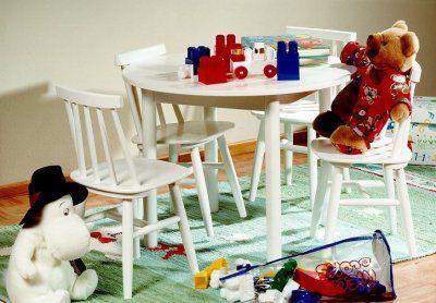 Ella lasten pöytä ja tuolit