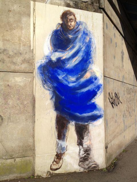 Ernest Pignon Ernest's Style #StreetArt #Rennes #Urbacolors