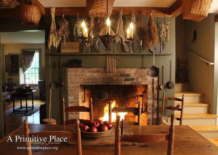 1738 best Colonial Main Living Rooms and Decor images on Pinterest  Primitive decor Primitive