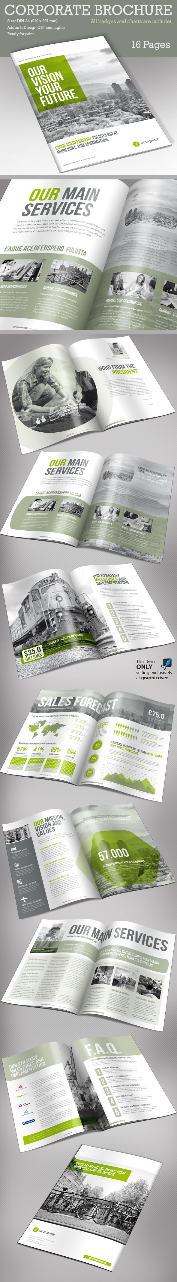 Corporate Brochure Vol 2 by Paulnomade Paulnomade, via Behance