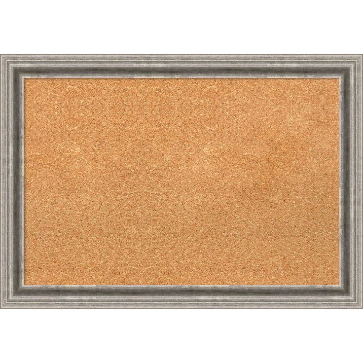Amanti Art Framed Cork Board, Bel Volto