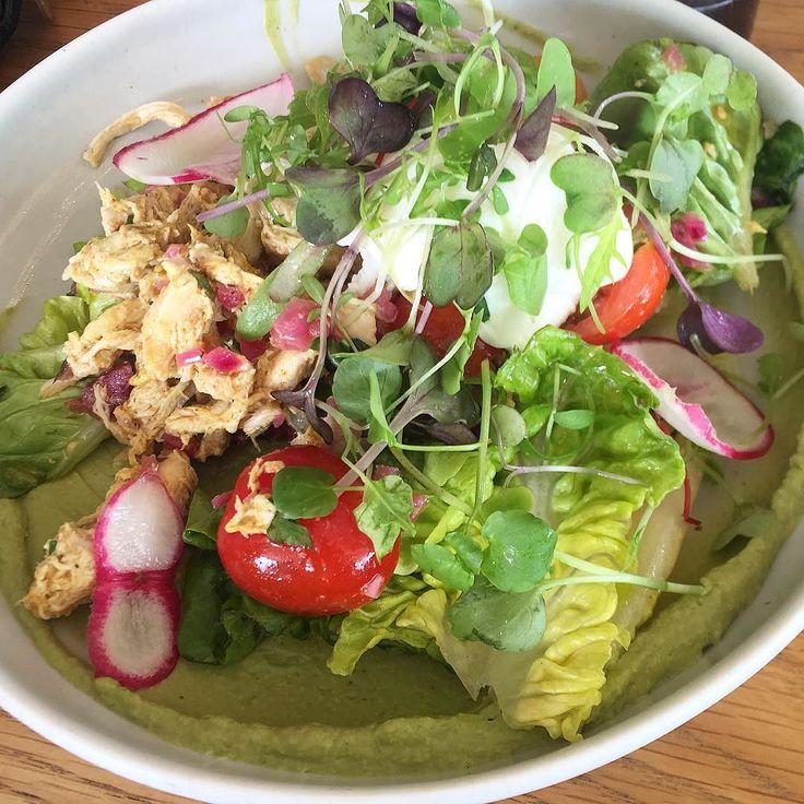 Chicken salad at Rosie's in Parnell @rosie_parnell by healthyclauds