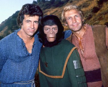 Planet of the Apes TV show, a spin-off from the successful movie series, was very popular. This TV show also generated its own little merchandise industry..16
