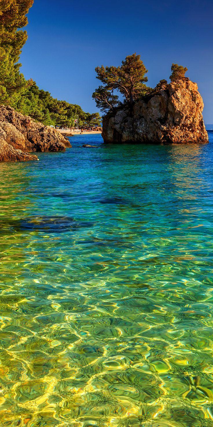 Brela Island, Croatia