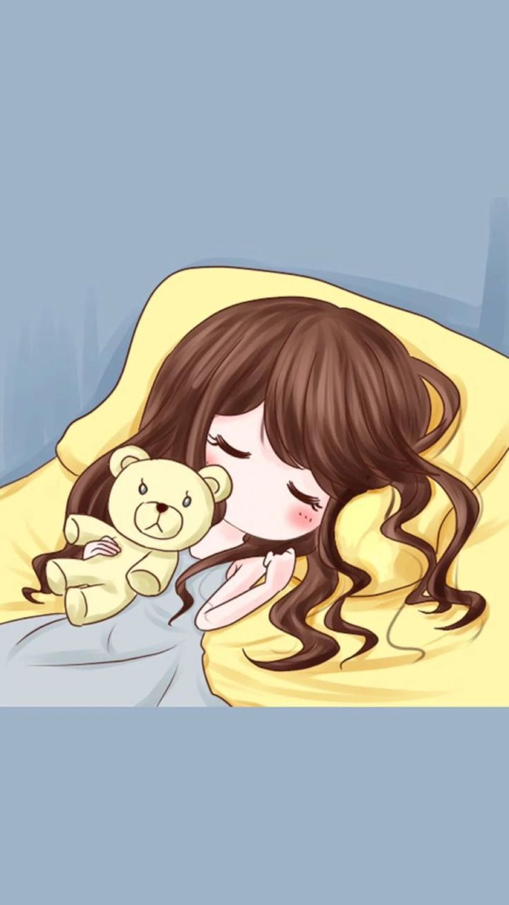 Couple Wallpaper (Sleep) Girl