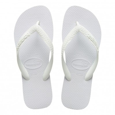 Top Havaianas blanc at Flopestore France, www.