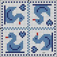 """Gallery.ru / anavalles - Альбом """"biscornius punto de cruz"""""""