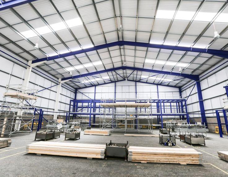 Scaffolding training centre at WATA