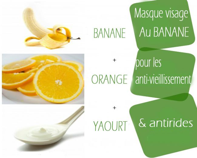 17 best images about meilleur masque maison on pinterest homemade facial scrubs banana face - Masque pour visage maison ...