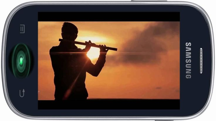 Fajny dzwonek na telefon komórkowy - heart touching flute