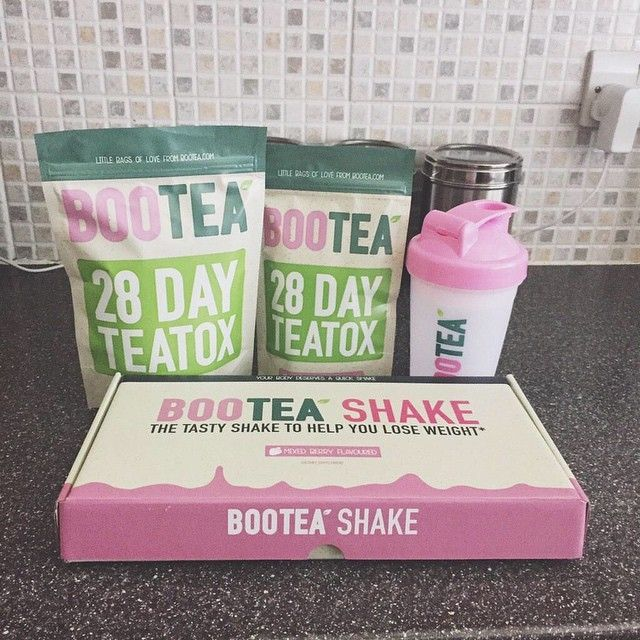 Have a cup of tea or shake from Bootea to start your detox