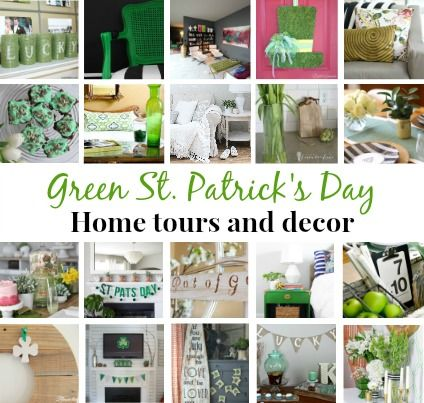 Our spring green home tour loads of ideas for decorating with green and st