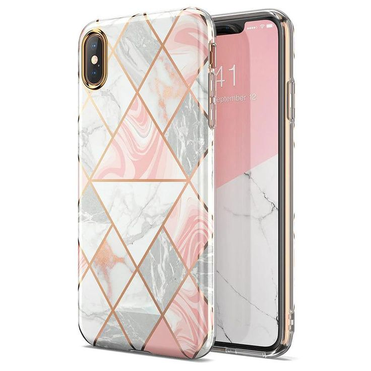 Luxury marble gold silver designer iphone case for