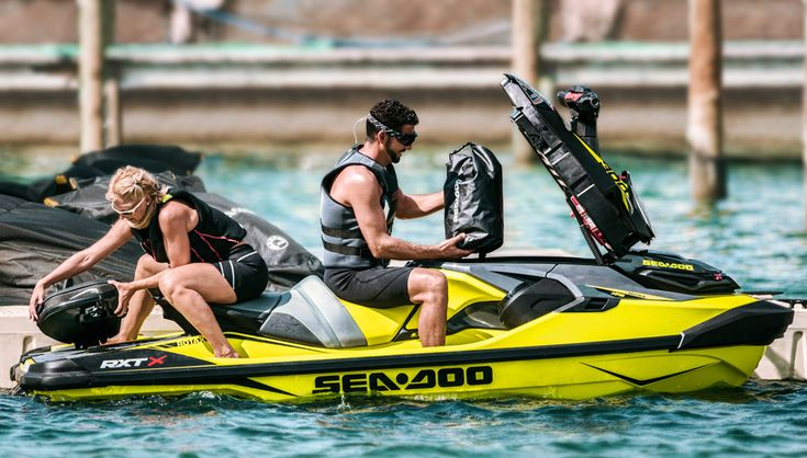 Sea-Doo Innovations Feature WE TAKE A DEEP DIVE INTO THREE KEY SEA-DOO INNOVATIONS FOR 2018 – THE LINQ QUICK ATTACH SYSTEM, ERGOLOCK SADDLE AND DIRECT FRONT STORAGE ACCESS.