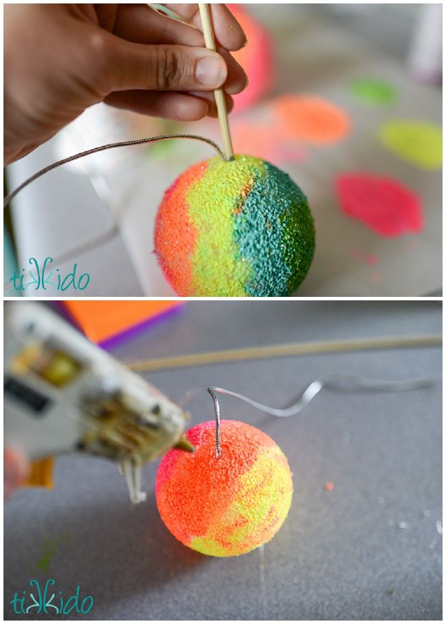 Classic Ball and Cup Toy Tutorial with a Snow Cone Summer Twist   Tikkido.com