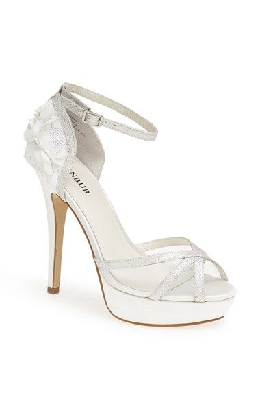 Menbur 'Iria' Satin Sandal available at #Nordstrom