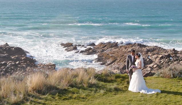Headland Hotel, Newquay, Cornwall #Beach #Wedding