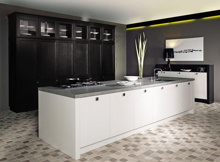17 beste idee n over kleur keukenkasten op pinterest gekleurde keukenkasten keukenkasten en - Trendkleur keuken ...