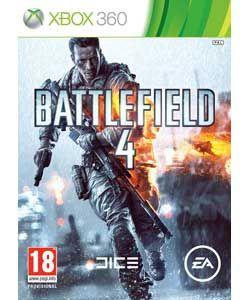 Battlefield 4 Xbox 360 Game.