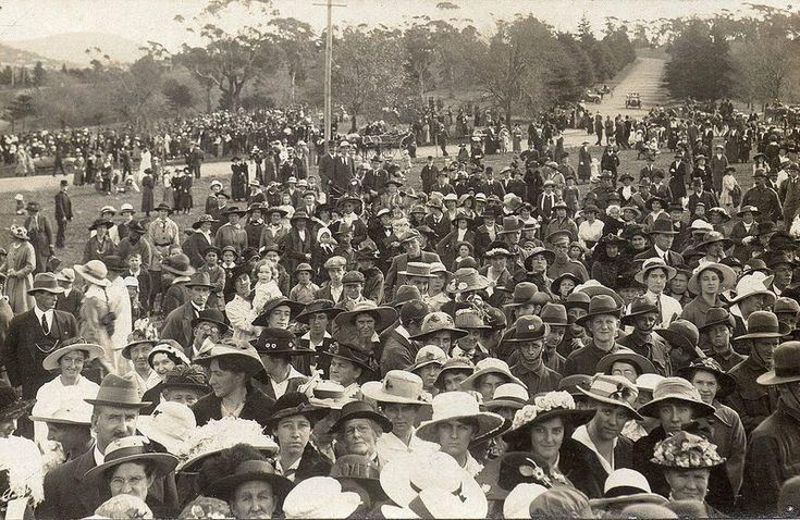 First Anzac Day, Hobart Domain, Tasmania -  1916 | by Aussie~mobs