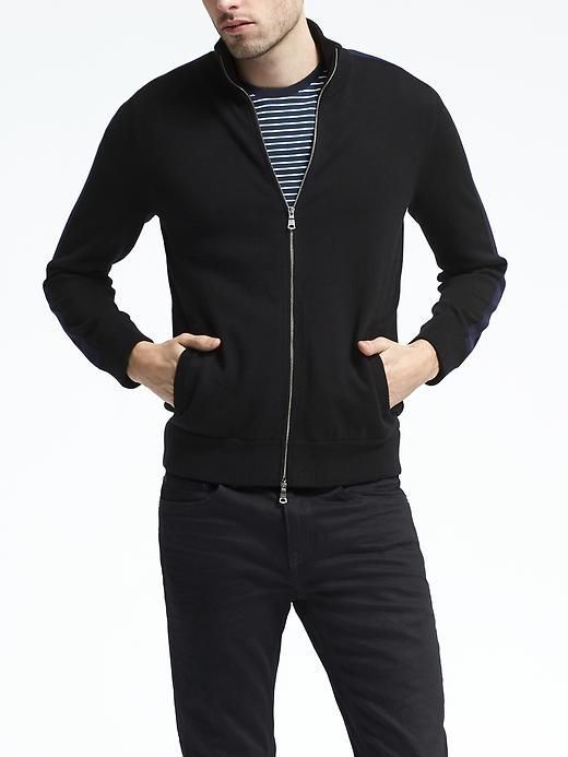 Performance Sweater Jacket men's fashion and style
