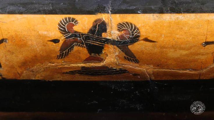 Nuestra pieza de mes de septiembre es especialmente interesante para los amantes de arte y la arqueología clásica, el Kylix de la colección Gómez-Moreno.  ¡Esperamos que os guste!