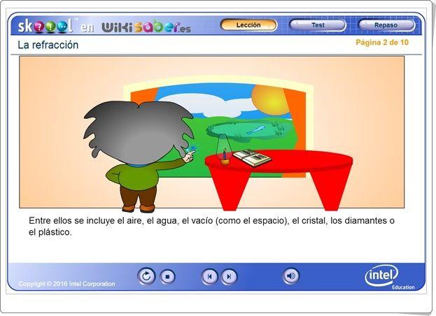La refracción (Wikisaber.es)