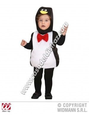 Disfraz de Pingüino para Bebés asadeldisfraz.com/