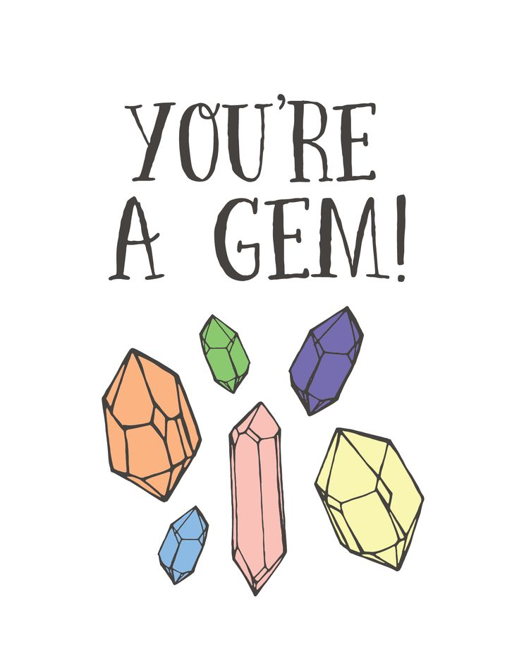 You Re So Pretty: It's True, You're A Gem!