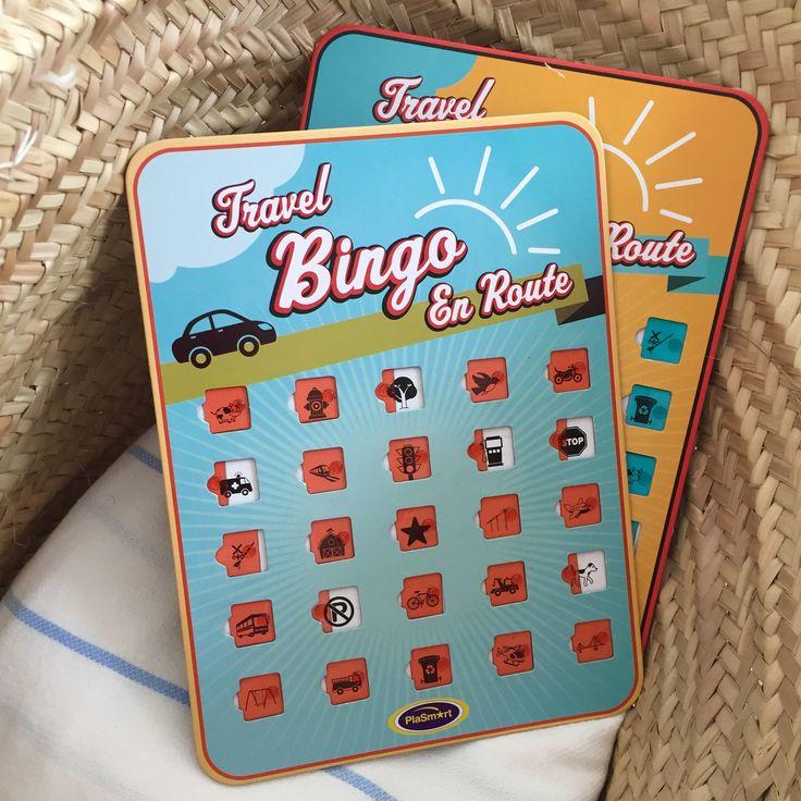 Travelbingo is een set met twee herbruikbare autobingokaarten. Op de kartonnen kaarten staan 25 afbeeldingen met plastic schuifjes ervoor. Spotten de kinderen vanaf de achterbank een object? Bijvoorbeeld een parkeerplaats, benzinestation of een loslopende hond? Dan mag het schuifje dicht. De eerste met een rij of bingokaart vol is de winnaar. In de verpakking zittentwee kaarten met dezelfde symbolen op verschillende plekken. Voor het sterretje in het midden kun je zelf iets bedenken. Het…