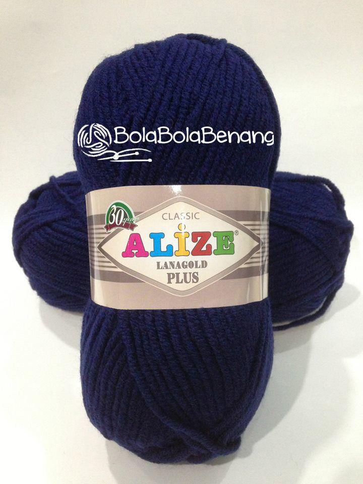 LANAGOLD PLUS 590, Price: Rp.100.000,- /gulung, Bahan: 49% Wool – 51% Acrylic, Berat/Panjang: 100gr/140m, Knitting Needles : 5mm -7mm, Crochet hook: 6mm - 7mm